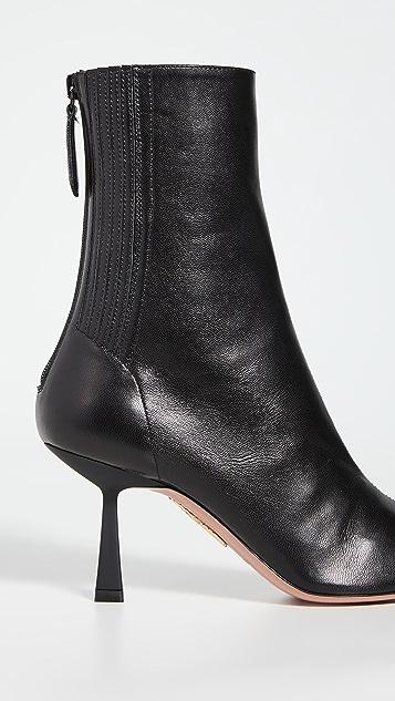 Aquazzura Curzon 短靴 75mm