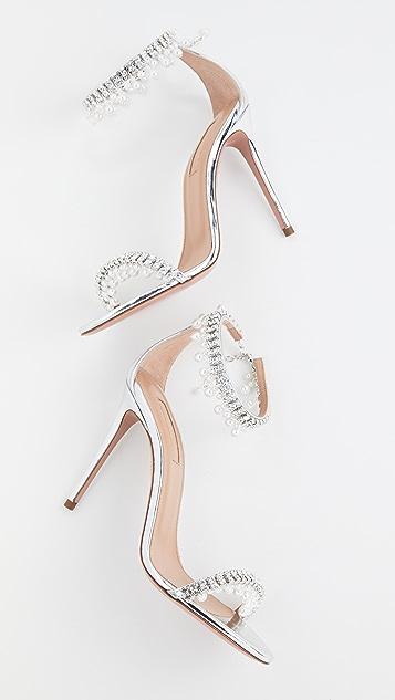 Aquazzura 105mm Exquisite Sandals