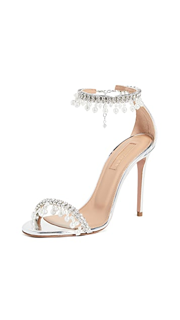 Aquazurra 105mm Exquisite 凉鞋