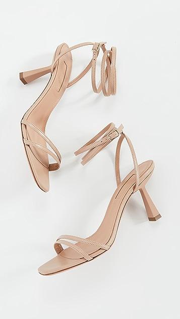 Aquazurra Isabel 凉鞋 75mm