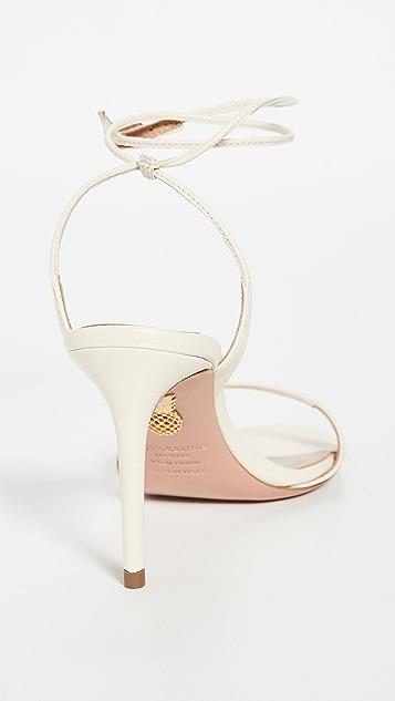 Aquazurra Minute 凉鞋 85mm