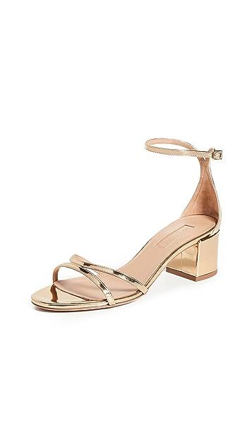 Aquazurra 50mm Purist 凉鞋
