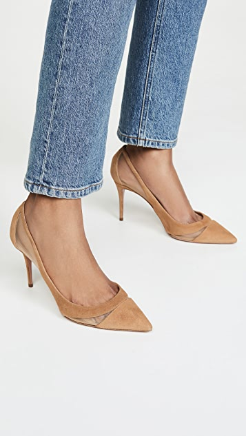 Aquazurra Savoy 浅口鞋 85mm