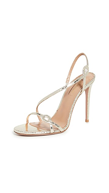 Aquazzura Serpentine Sandals 105mm