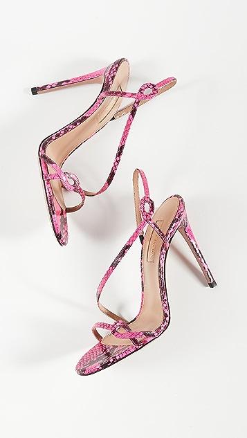 Aquazurra Serpentine 凉鞋 105mm