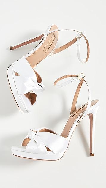 Aquazzura 115mm Chance Sandals
