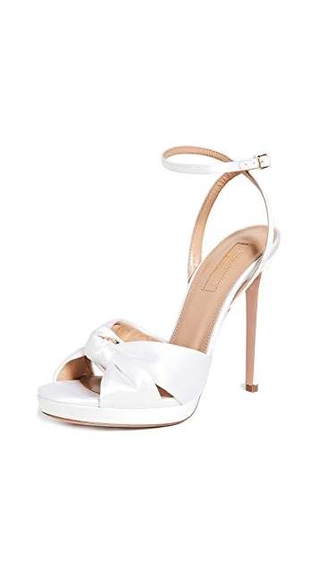 Aquazzura 115mm Chance Sandals