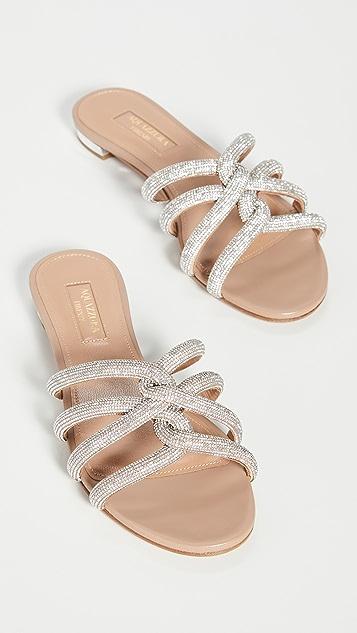 Aquazurra Moondust 平底鞋