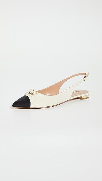 Aquazurra Mondaine Sling 平底鞋