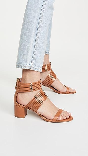 Aquazzura 50mm Ravello 凉鞋