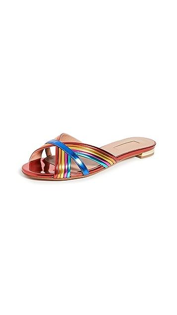 Aquazzura Sundance 平底凉鞋