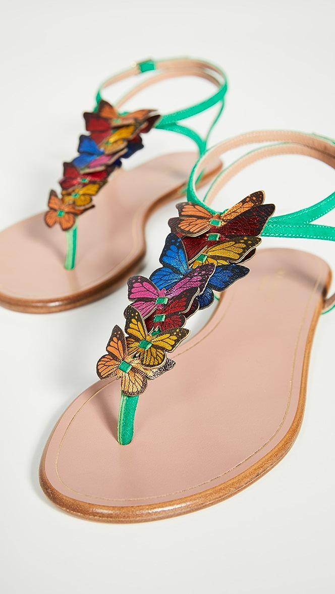 Aquazzura Papillon Sandal Flats | SHOPBOP