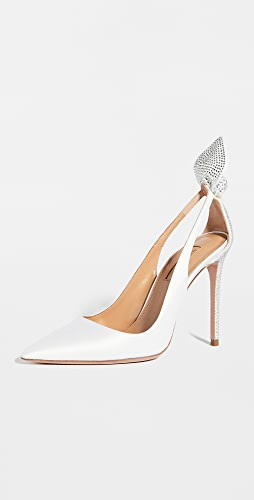 Aquazzura - Bow Tie Crystal Pump 105mm