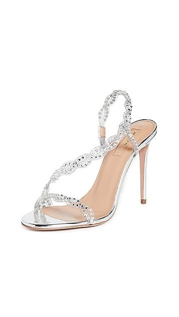 Aquazzura Heaven 105mm Sandals