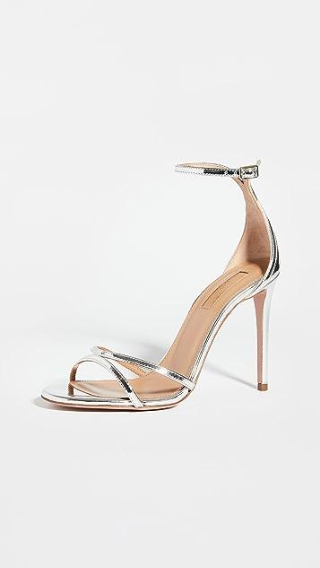 Aquazzura 105mm Purist 凉鞋