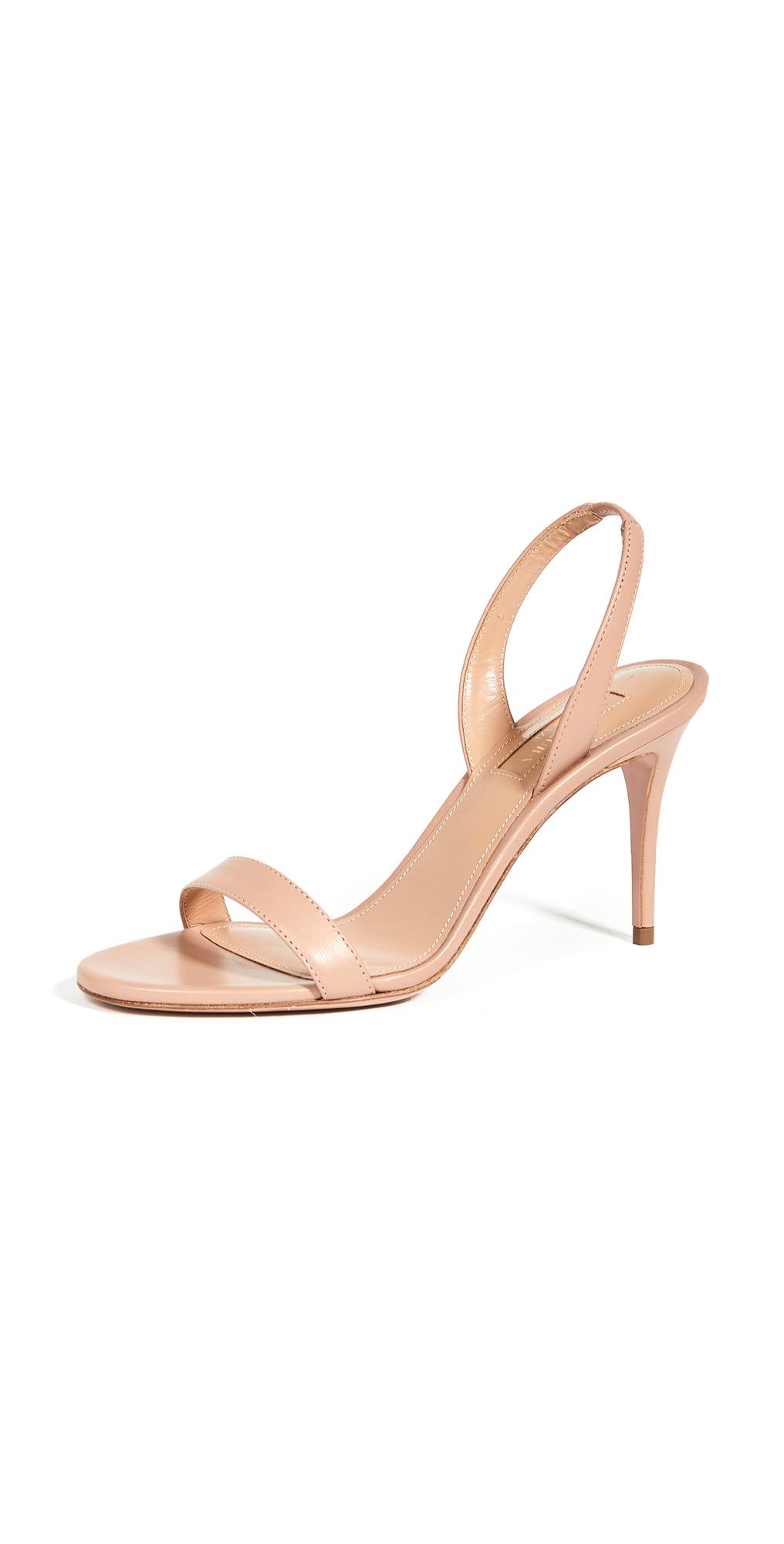 Aquazzura So Nude Sandals 85mm
