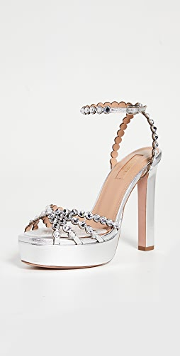 Aquazzura - Tequila Plateau Sandals 120mm