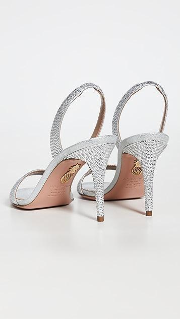 Aquazzura 85mm So Nude Sandals