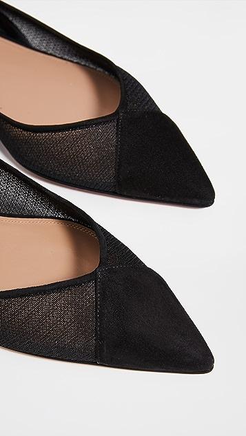 Aquazzura Sacha 平底鞋