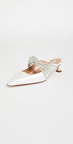 Aquazzura - Celeste Mules 45mm