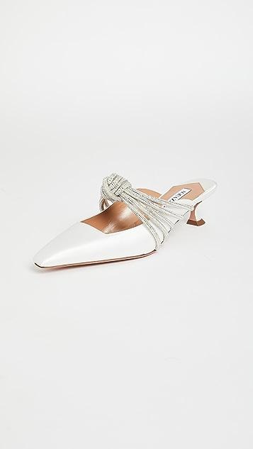 Aquazzura Celeste 穆勒鞋 45mm