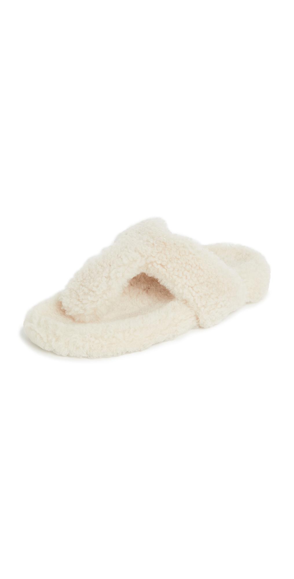 Aquazzura Relax Flat Footbed Sandals