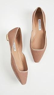Aquazzura Maia 平底鞋