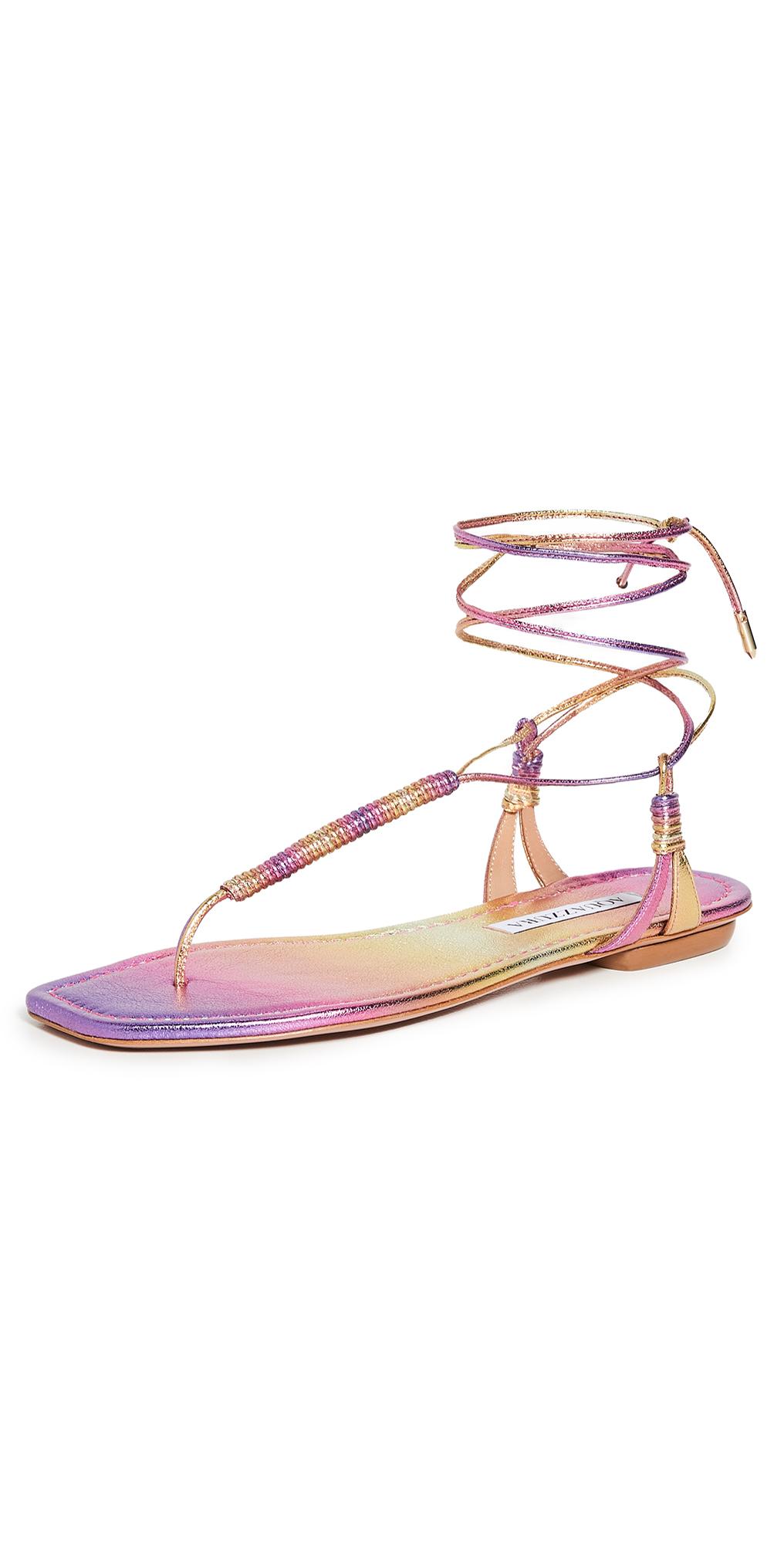 Aquazzura Sole Flat Sandals
