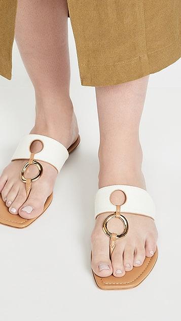 Aquazzura Ring 平底凉鞋
