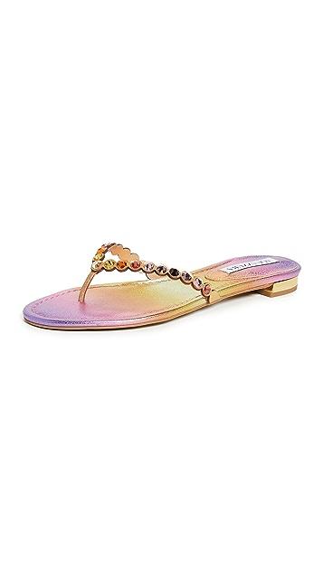 Aquazzura Tequila 夹趾凉鞋