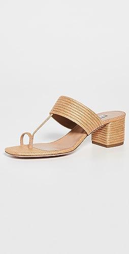 Aquazzura - Sundance Thong Sandals 50mm