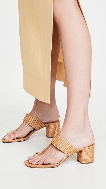 Aquazzura Sundance Thong Sandals 50mm