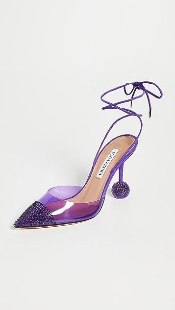 Aquazzura 95mm 晚宴高跟鞋