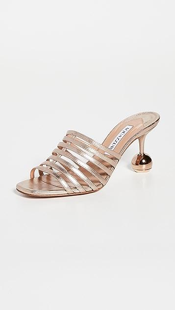 Aquazzura Le Parisien Sandals 75mm