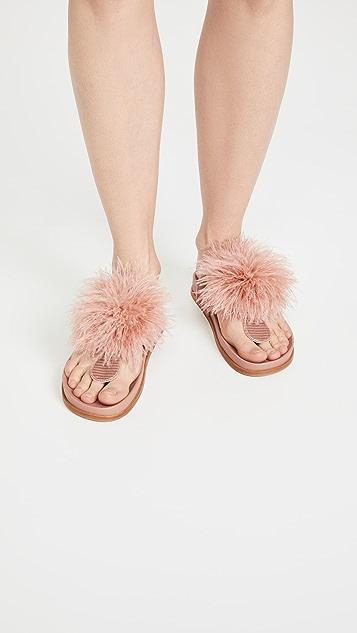 Aquazzura Boudoir Footbed 凉鞋