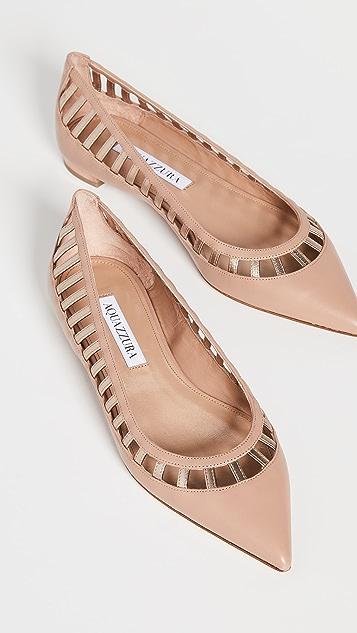 Aquazzura Le Parisien 芭蕾舞平底鞋