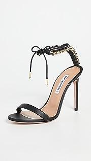 Aquazzura Nikki 105mm Sandals