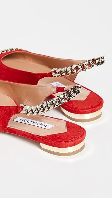 Aquazzura Nikki 芭蕾舞平底鞋