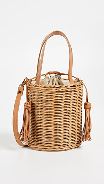 ARANAZ Jean Bucket Bag