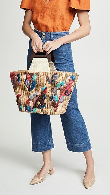 ARANAZ Объемная сумка с короткими ручками Louise
