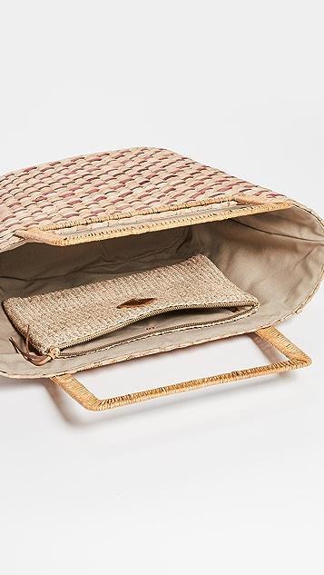 ARANAZ Объемная сумка с короткими ручками Mathilde
