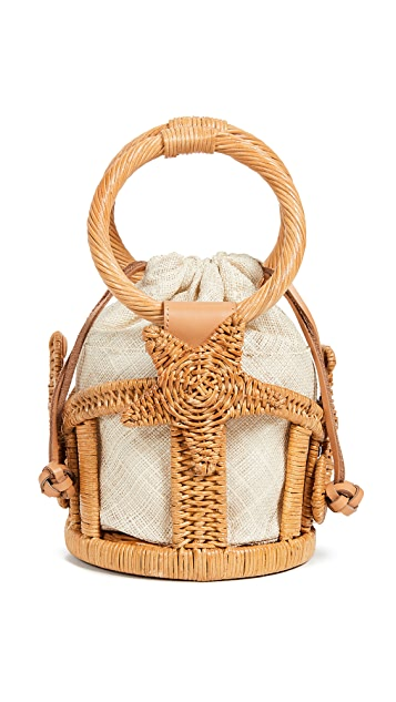 ARANAZ Marina Mini Bucket Bag
