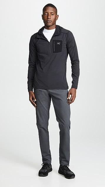Arc'Teryx Rho Lightweight Hooded Zip Neck Jacket