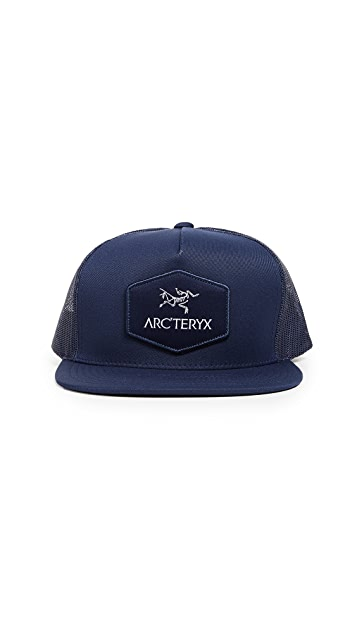 c275b2d7d26ee Arc Teryx Hexagonal Patch Trucker Hat