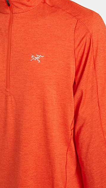 Arc'Teryx Cormac Lightweight Zip Neck Long Sleeve Shirt