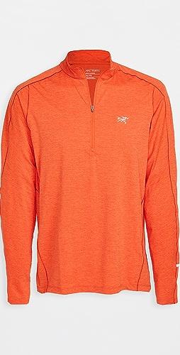 Arc'Teryx - Cormac Lightweight Zip Neck Long Sleeve Shirt