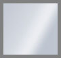 серебристая латунь/белый кристалл