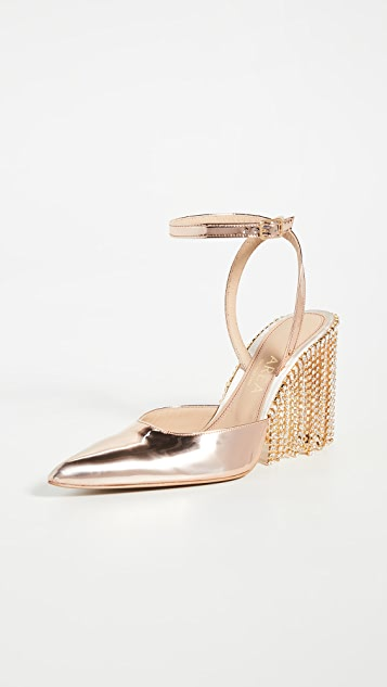 Area Crystal Chandelier High Heels