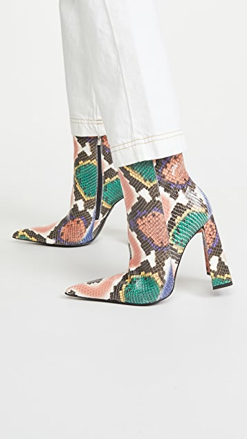 Area 'A' Heel Boots