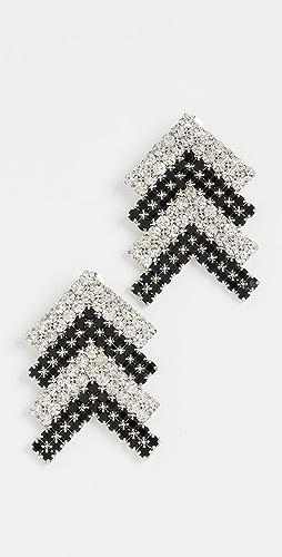 Area - Crystal Arrow Earrings